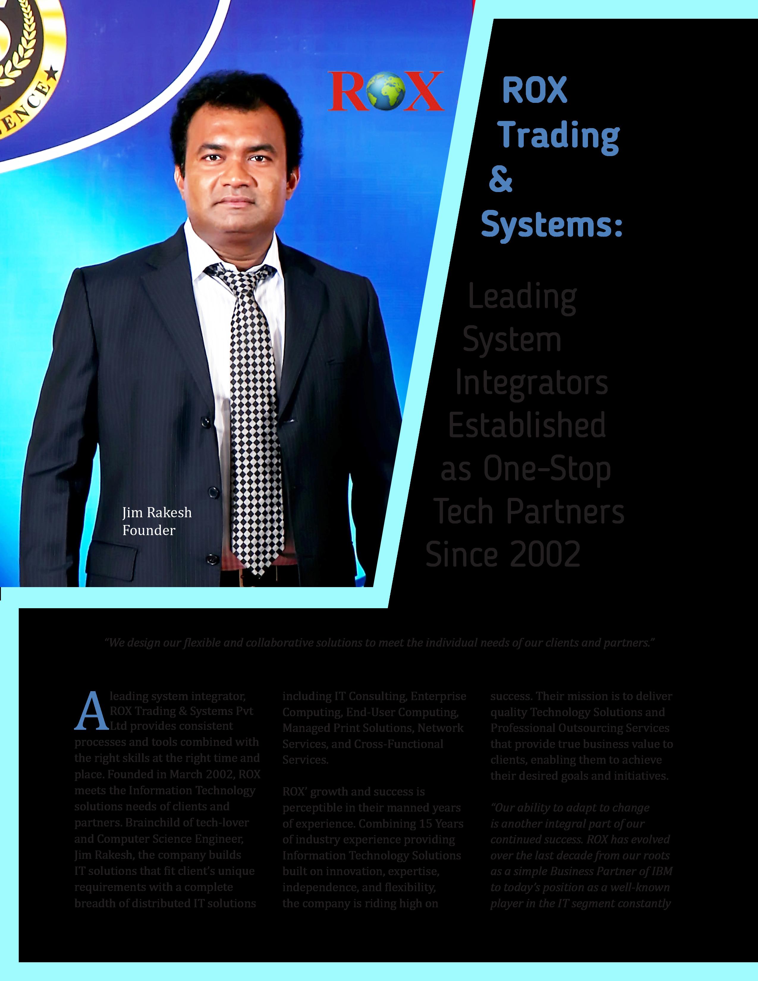 rox trading systems pvt ltd darbuotojų akcijų pasirinkimo pasiūlymai